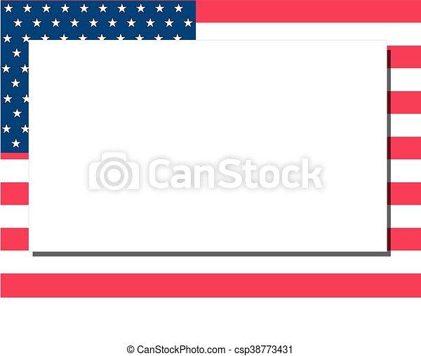 American Frame - csp38773431