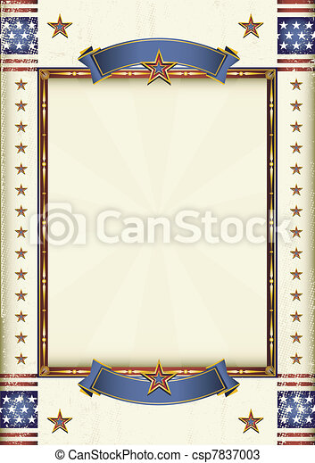American frame - csp7837003