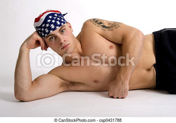 American guy - csp0431788