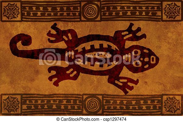 American Indian national patterns - csp1297474