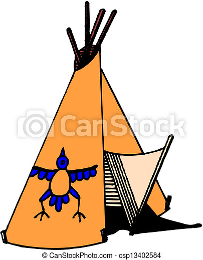 american indian wigwam vector search clip art illustration rh canstockphoto com native american indian clipart american indian clipart images