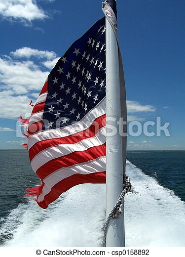 american lobogó - csp0158892