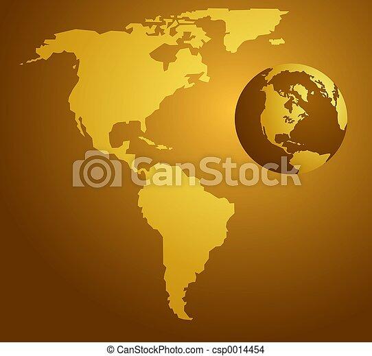 American Map - csp0014454