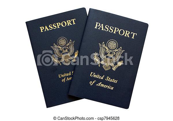 American passports - csp7945628