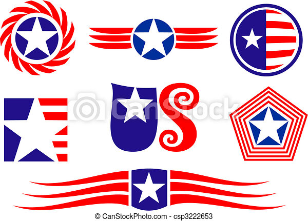 American Patriotic Symbols Clipart Awesome Graphic Library
