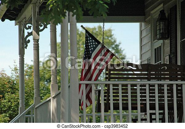 American Patriotism - csp3983452