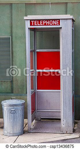 American phone box