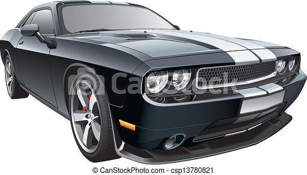 American pony car.cdr - csp13780821
