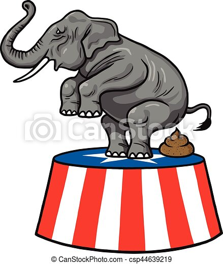 american republican party gop elephant vector cartoon vector clip rh canstockphoto co uk republican clipart free democrat republican clipart