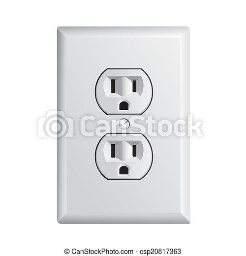 American socket - csp20817363