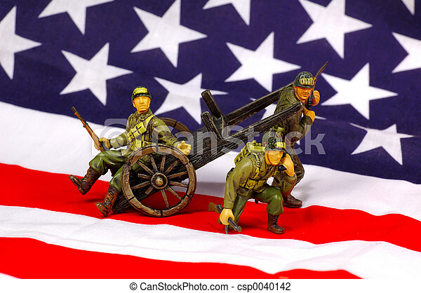 American Soldiers - csp0040142