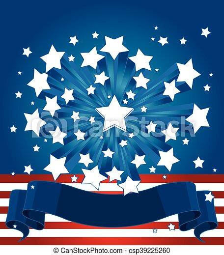 American Starburst Background.eps - csp39225260