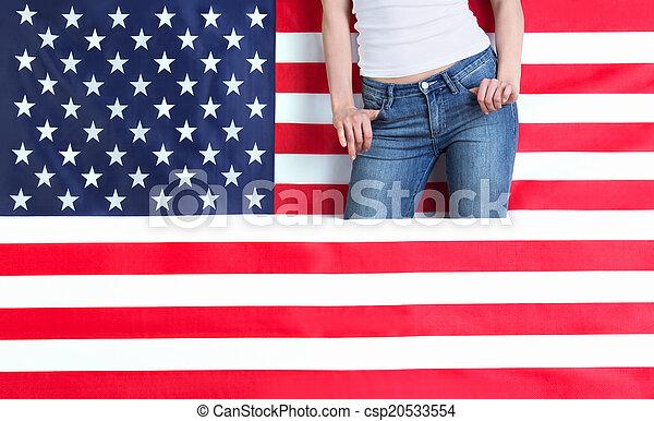 American - csp20533554