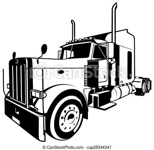 American Truck - csp28344341