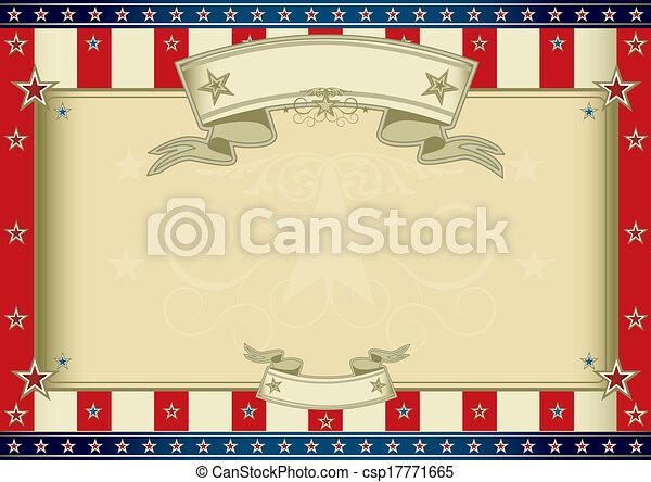 americano, certificado - csp17771665