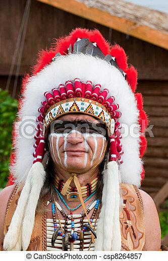 amerikaan indiaas, noorden - csp8264857