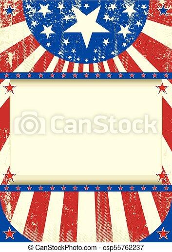 amerikan, grunge, ram - csp55762237