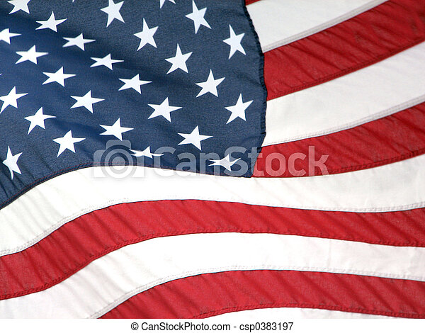amerikaner flag - csp0383197