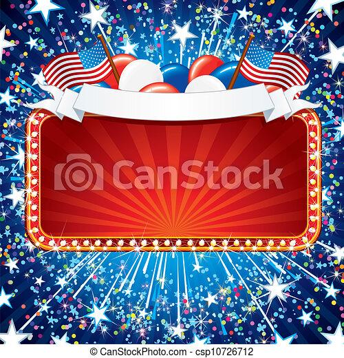 amerikanische , fistive, zeichen - csp10726712
