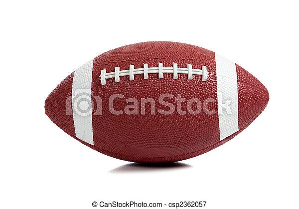 amerikanische , fußball, weißes - csp2362057