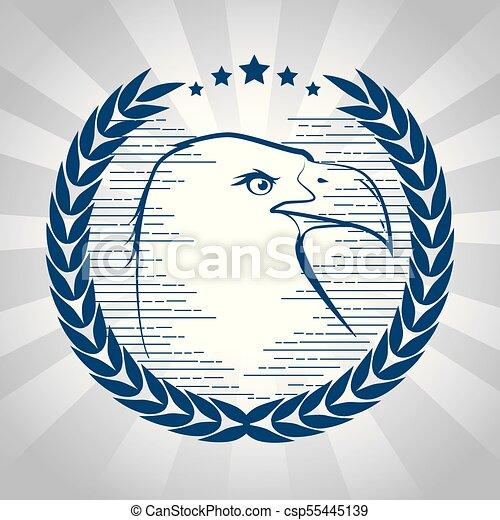 Wunderbar Amerikanische Adler Färbung Seite Bilder ...