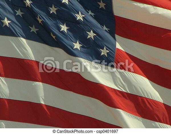 amerykanka, 2, bandera - csp0401697