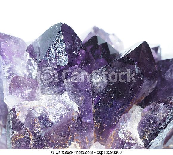 Amethyst - csp18598360