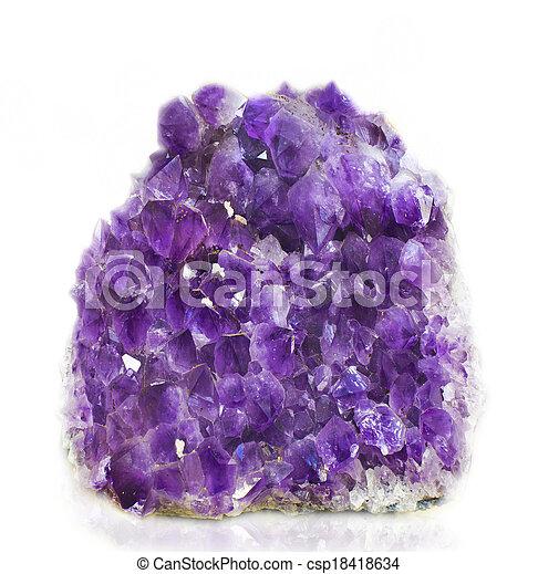 amethyst - csp18418634