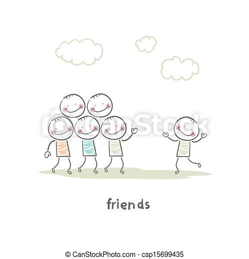 amigos - csp15699435