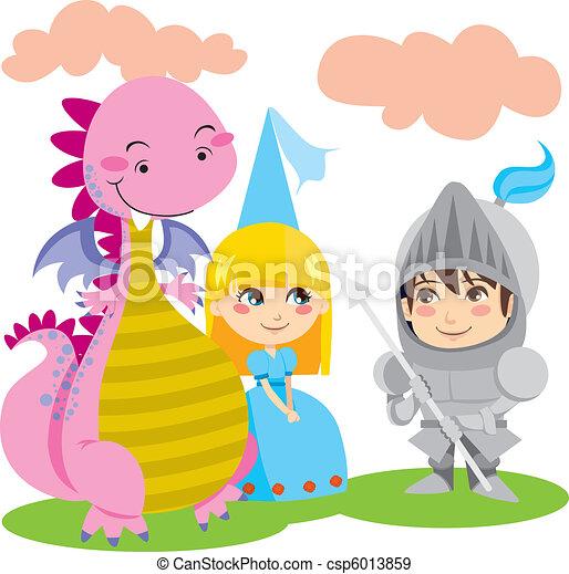 Amigos mágicos - csp6013859
