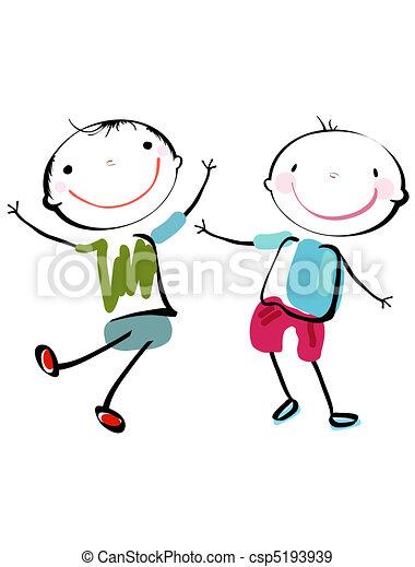 Los mejores amigos - csp5193939