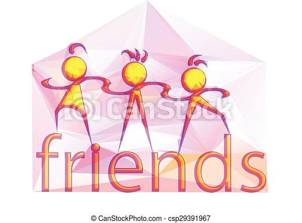 amigos - csp29391967