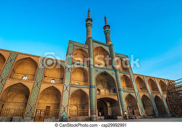 Amir Chakhmaq Complex in Yazd, Iran - csp29992991