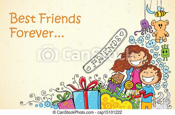amitié, jour - csp15101222