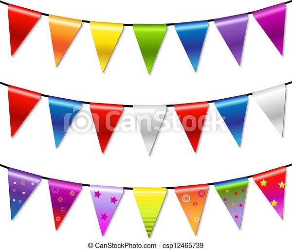 Ammer Regenbogen Banner Girlande Ammer Regenbogen Girlande