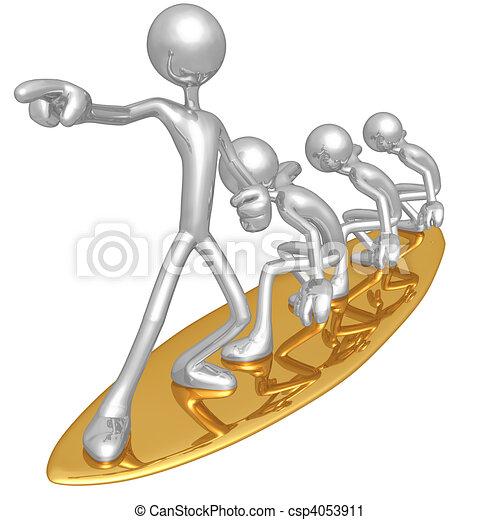 amministrazione, rischio, surfing - csp4053911