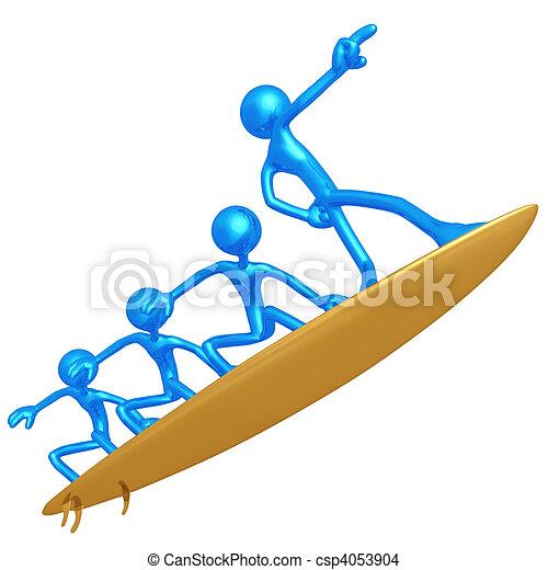 amministrazione, rischio, surfing - csp4053904