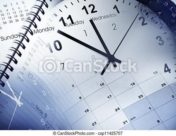 amministrazione, tempo - csp11425707