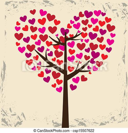 amor, árvore - csp15507622