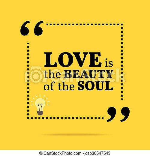 Cita Motivacional Inspiradora El Amor Es La Belleza Del