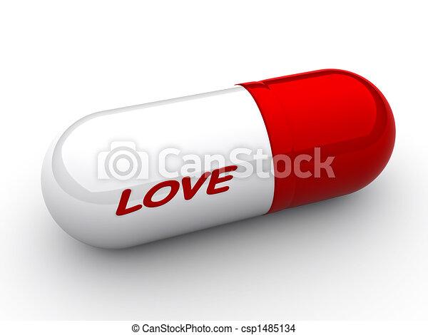 Cápsula de amor - csp1485134