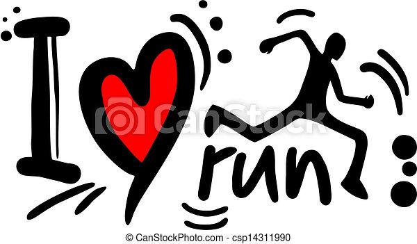 Carrera de amor - csp14311990