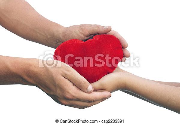 Amor y amistad. - csp2203391