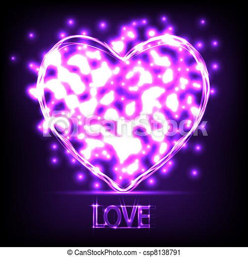 El amor es un fondo abstracto. Ilustración del vector. La mejor opción - csp8138791