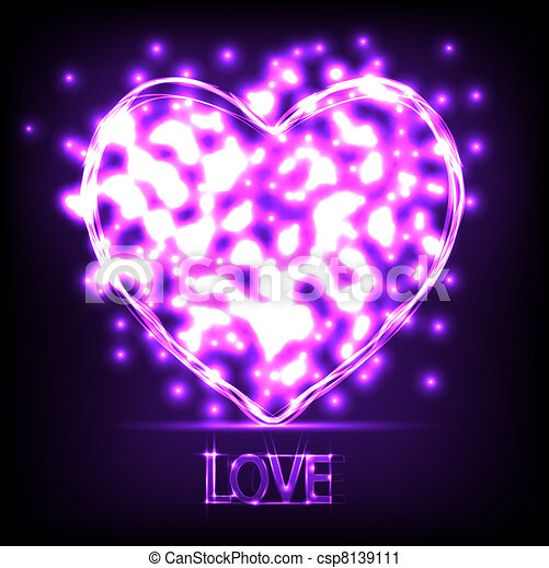 El amor es un fondo abstracto. Ilustración del vector. La mejor opción - csp8139111