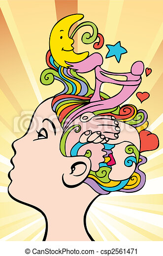 Amor Pensamentos Aproximadamente Amor Pensando Abstratos