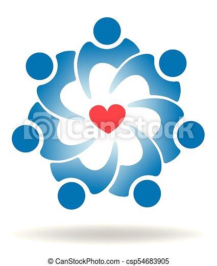 amor, pessoas - csp54683905