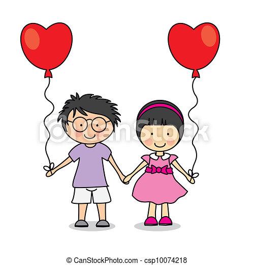Primer amor - csp10074218
