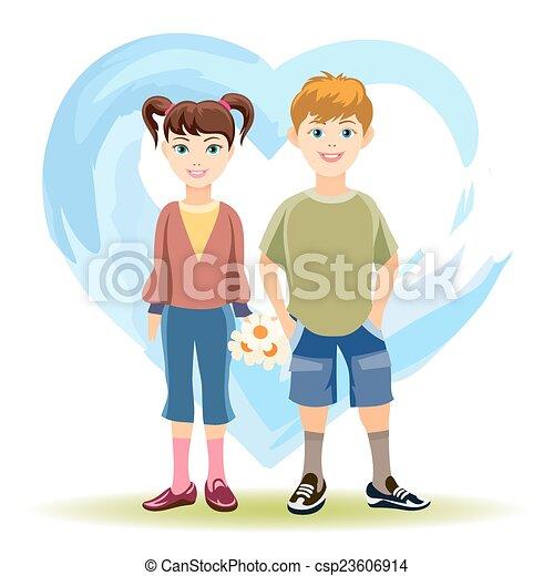 Primer amor - csp23606914