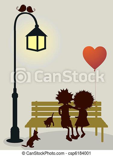 Carta de amor - csp6184001